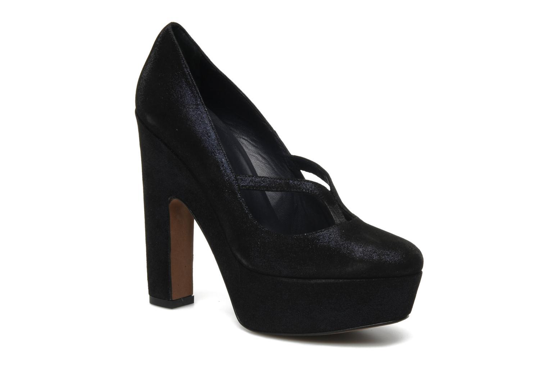 High heels Castaner Noelia Blue detailed view/ Pair view