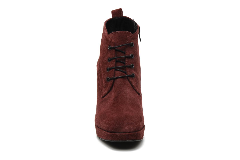 Bottines et boots Georgia Rose Nuts Bordeaux vue portées chaussures