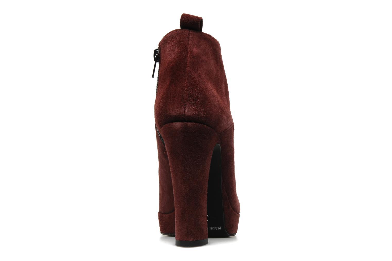 Boots Georgia Rose Nuts Vinröd Bild från höger sidan