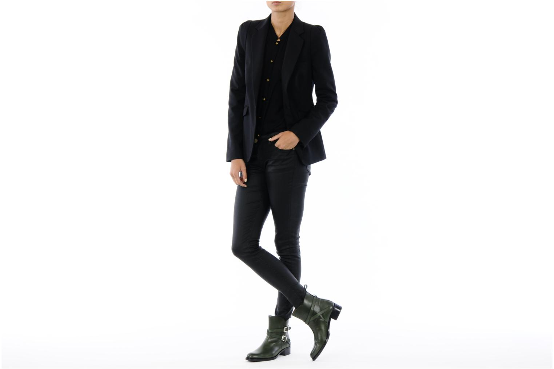 Bottines et boots Georgia Rose Perbaby Vert vue bas / vue portée sac