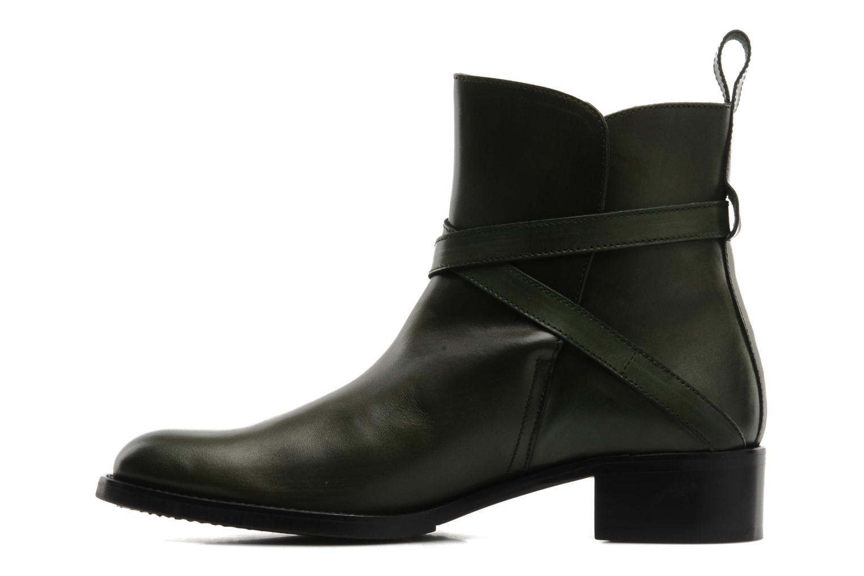 Bottines et boots Georgia Rose Perbaby Vert vue face