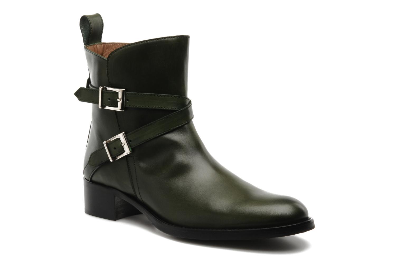 Bottines et boots Georgia Rose Perbaby Vert vue détail/paire