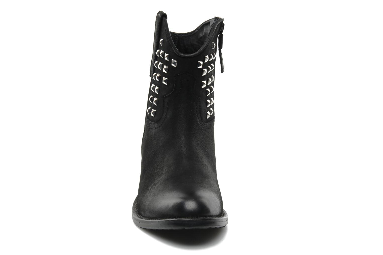 Bottines et boots Buffalo Bahar Noir vue portées chaussures