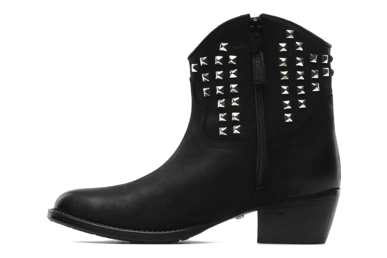 Bottines et boots Buffalo Bahar Noir vue face