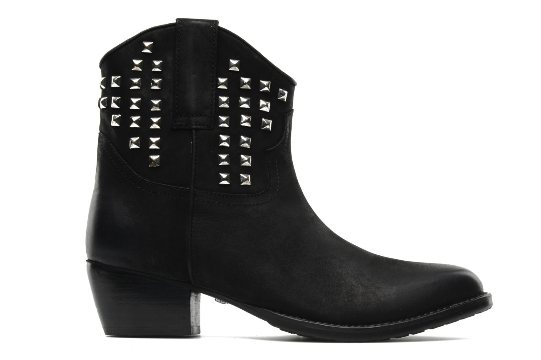 Bottines et boots Buffalo Bahar Noir vue derrière