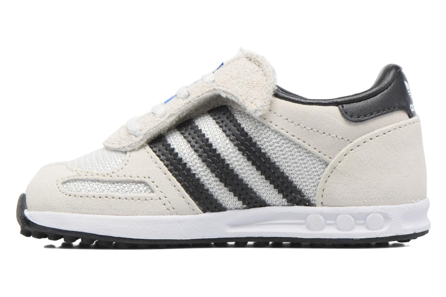 Baskets Adidas Originals LA Trainer Cf I Beige vue face