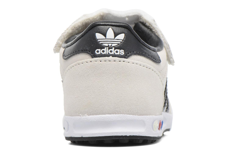 Sneakers Adidas Originals LA Trainer Cf I Beige Bild från höger sidan
