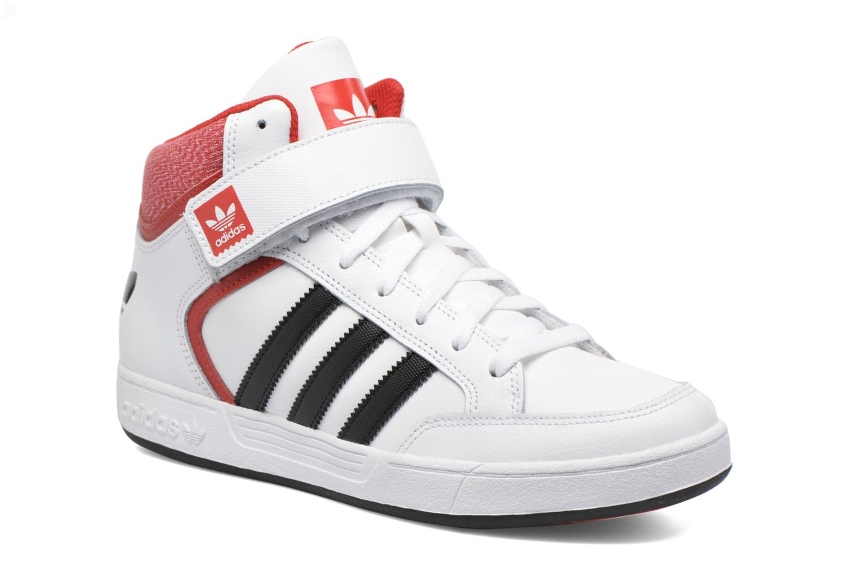 Baskets Adidas Originals Varial Mid Blanc vue détail/paire