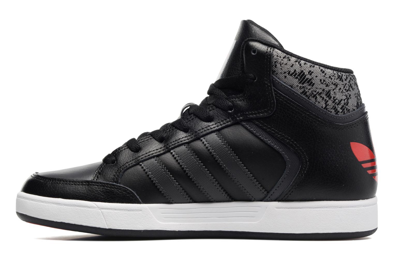 Sneaker Adidas Originals Varial Mid schwarz ansicht von vorne