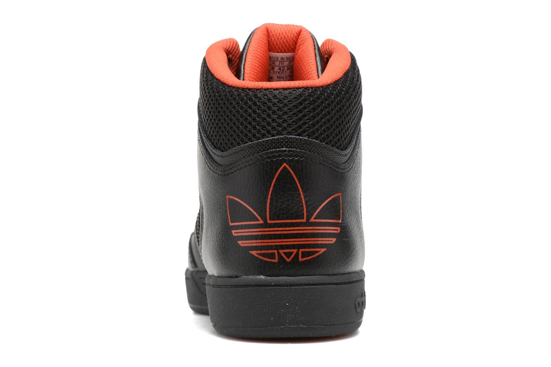 Baskets Adidas Originals Varial Mid Noir vue droite