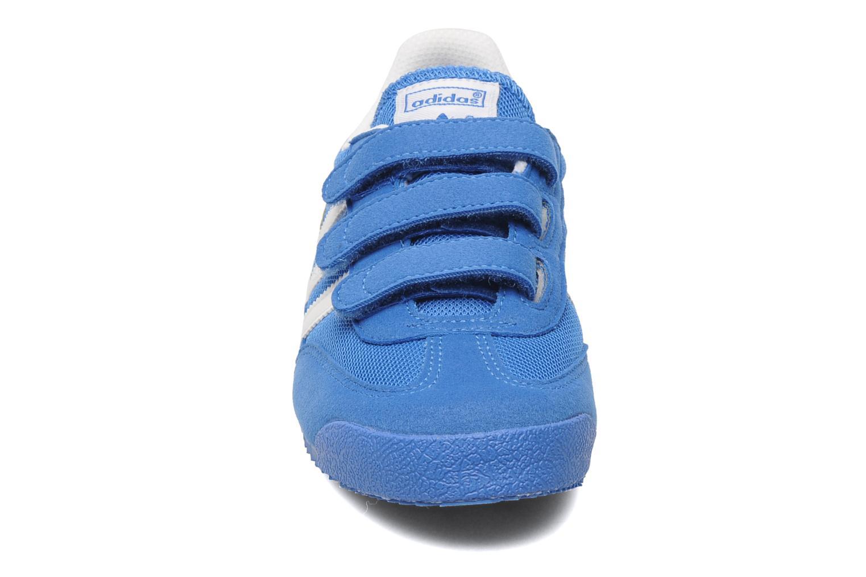 Baskets Adidas Originals Dragon Cf C Bleu vue portées chaussures