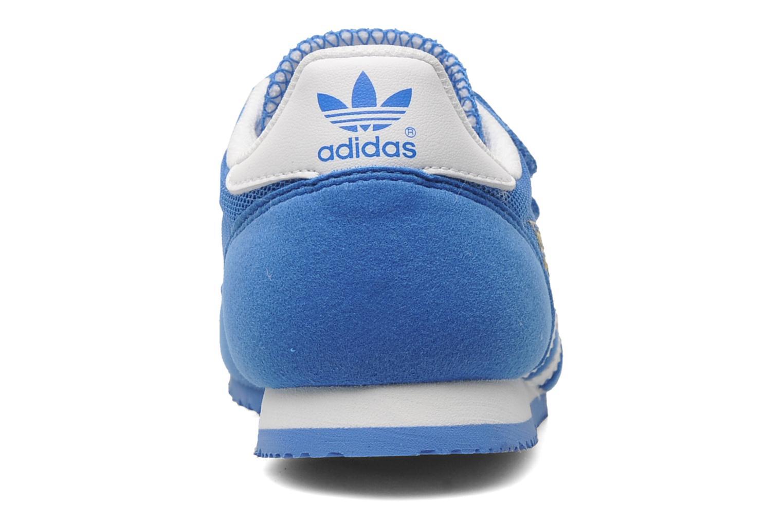 Baskets Adidas Originals Dragon Cf C Bleu vue droite