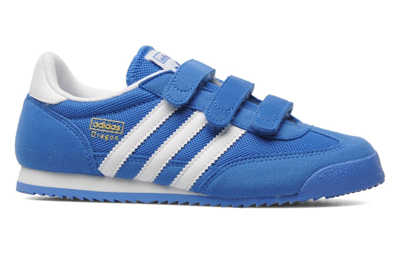Baskets Adidas Originals Dragon Cf C Bleu vue derrière