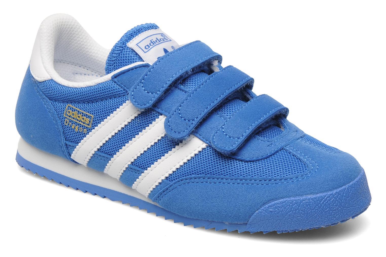 Baskets Adidas Originals Dragon Cf C Bleu vue détail/paire