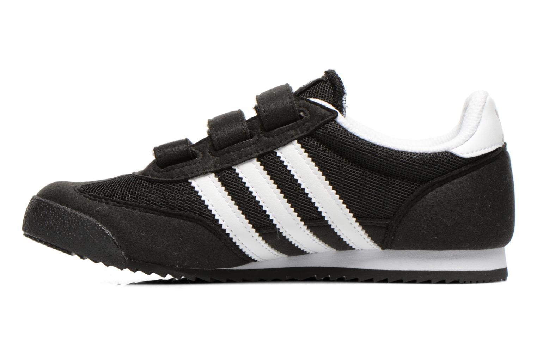 Sneaker Adidas Originals Dragon Cf C schwarz ansicht von vorne