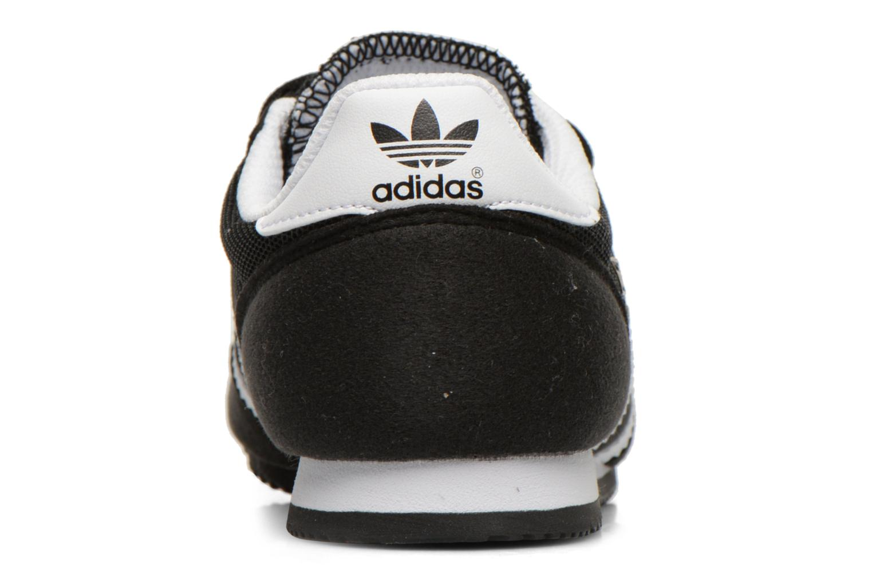 Sneaker Adidas Originals Dragon Cf C schwarz ansicht von rechts