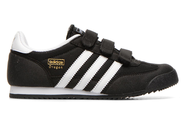 Sneaker Adidas Originals Dragon Cf C schwarz ansicht von hinten