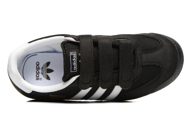Sneaker Adidas Originals Dragon Cf C schwarz ansicht von links