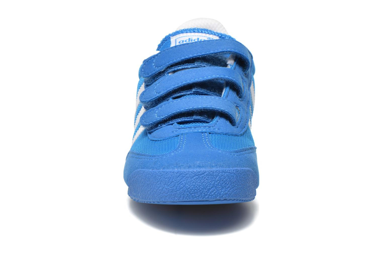 Sneaker Adidas Originals Dragon Cf C blau schuhe getragen