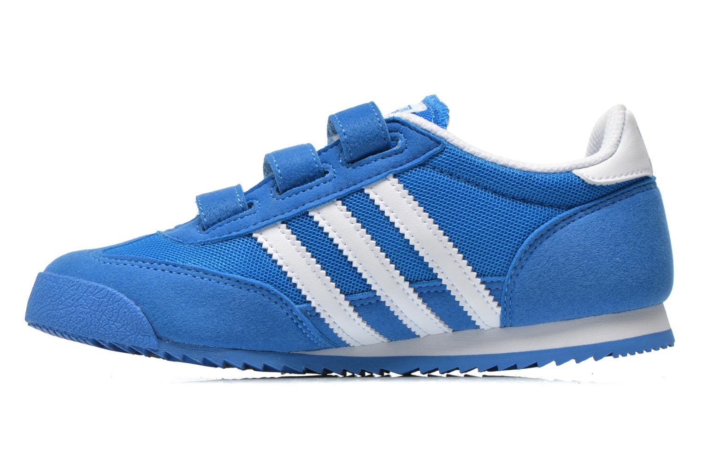 Sneaker Adidas Originals Dragon Cf C blau ansicht von vorne