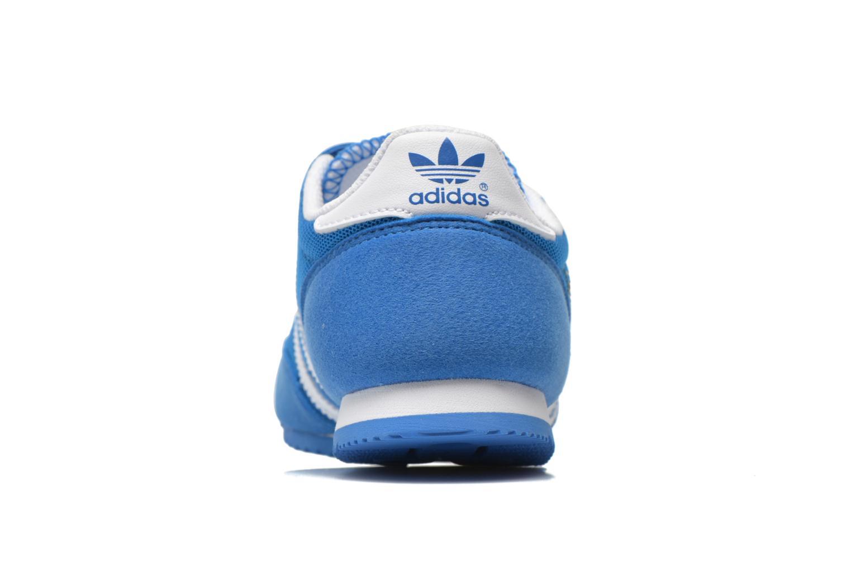 Sneaker Adidas Originals Dragon Cf C blau ansicht von rechts