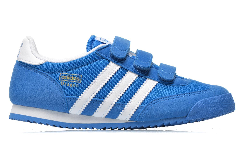 Sneaker Adidas Originals Dragon Cf C blau ansicht von hinten