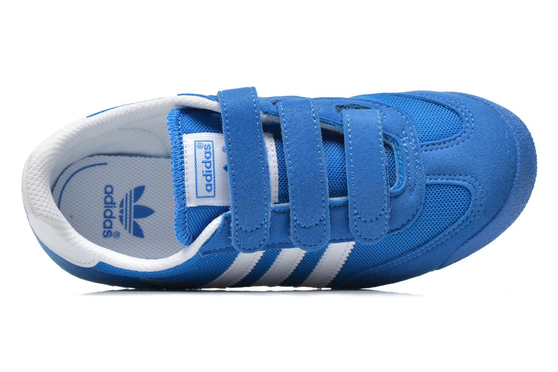 Sneaker Adidas Originals Dragon Cf C blau ansicht von links