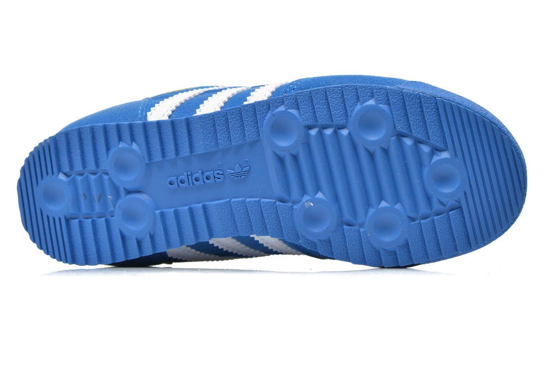 Sneaker Adidas Originals Dragon Cf C blau ansicht von oben