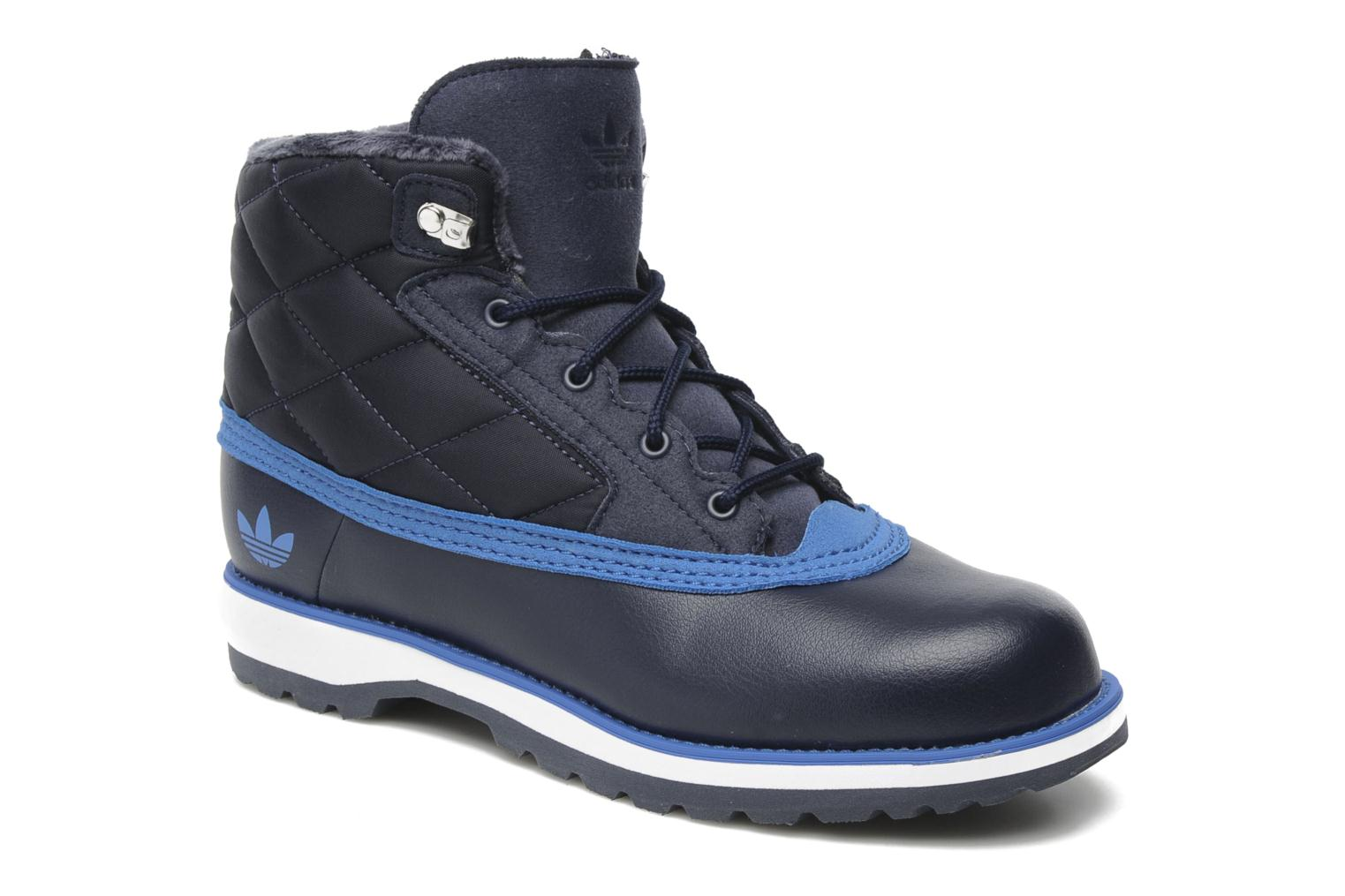 Adidas Originals Adi Navvy Quilt K (Blue) - Ankle boots chez ... : adidas quilted boots - Adamdwight.com