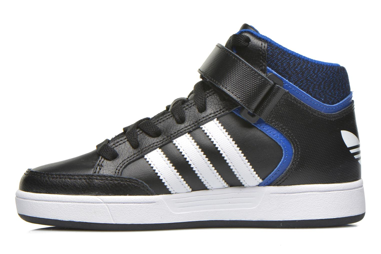 Sneakers Adidas Originals Varial Mid J Zwart voorkant