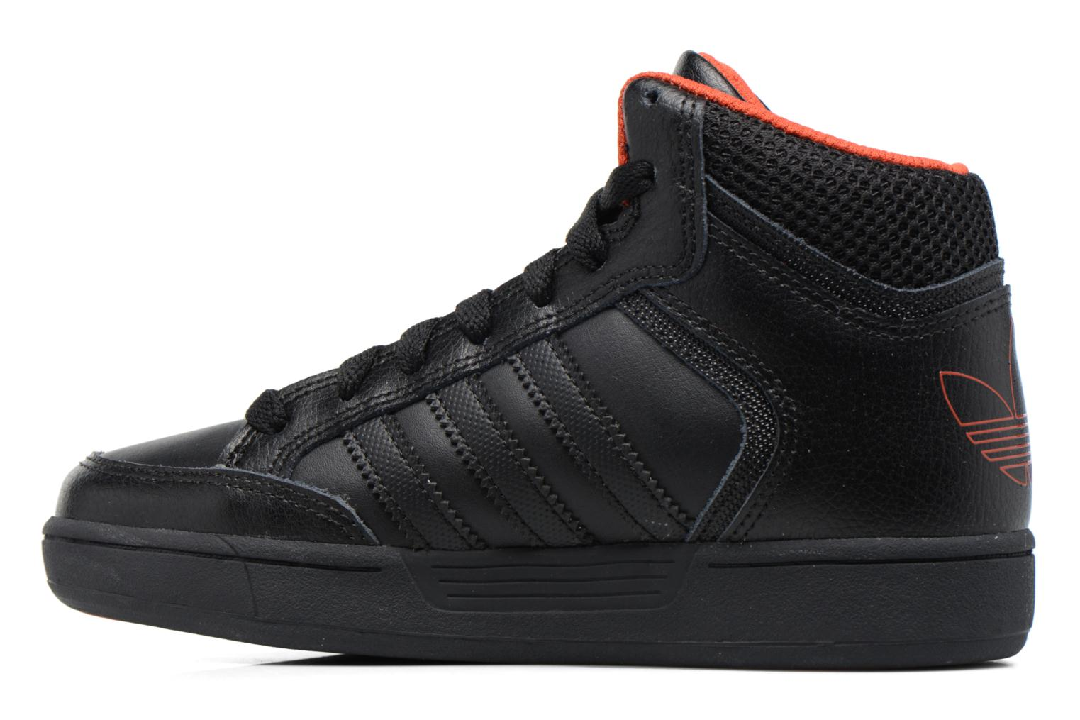 Trainers Adidas Originals Varial Mid J Black front view