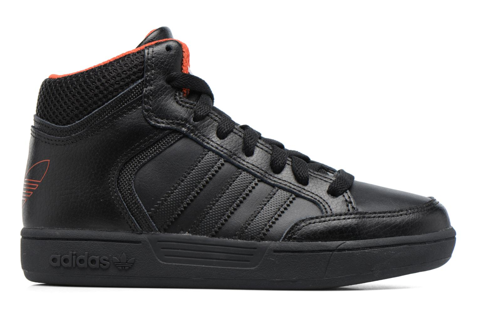 Trainers Adidas Originals Varial Mid J Black back view
