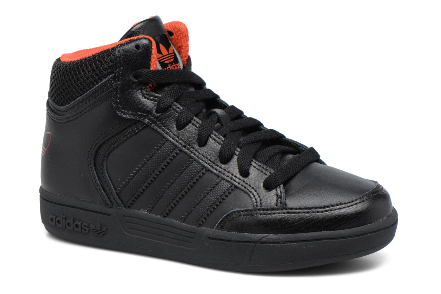 Trainers Adidas Originals Varial Mid J Black detailed view/ Pair view