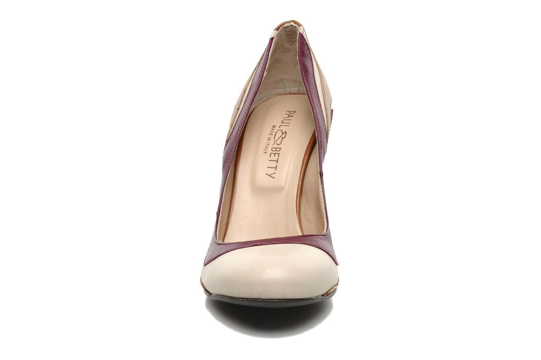 Escarpins Paul & Betty Frasal Multicolore vue portées chaussures