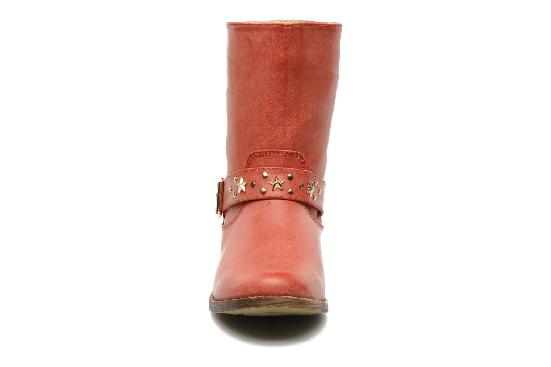 Bottines et boots Spot On GEORGINE Rouge vue portées chaussures