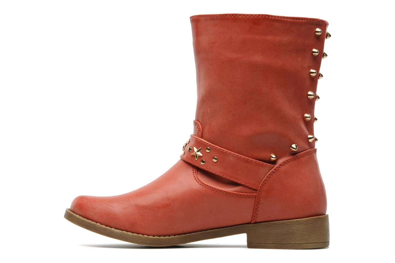 Boots Spot On GEORGINE Röd bild från framsidan