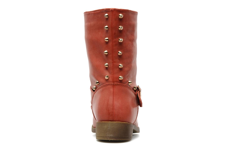 Bottines et boots Spot On GEORGINE Rouge vue droite