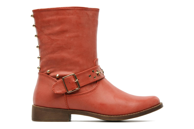 Bottines et boots Spot On GEORGINE Rouge vue derrière
