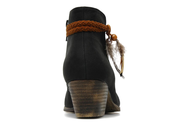 Boots en enkellaarsjes No Name Folk Zwart rechts
