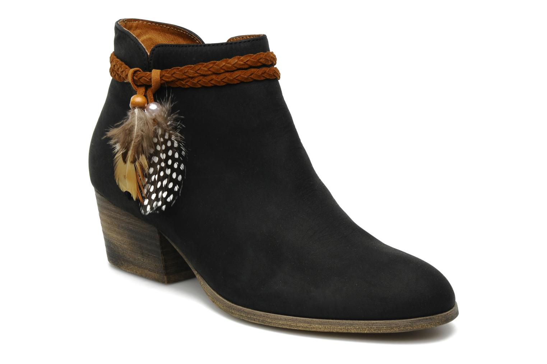 Boots en enkellaarsjes No Name Folk Zwart detail