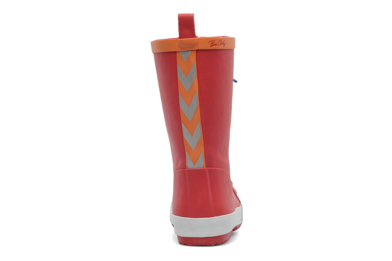 Bottes Be Only Punky Rouge vue droite