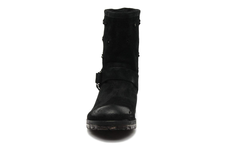 Bottines et boots Folk'l Rachell Gris vue portées chaussures