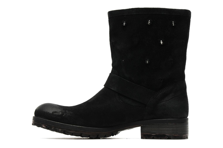 Boots en enkellaarsjes Folk'l Rachell Grijs voorkant
