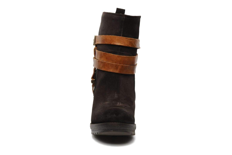 Bottines et boots Folk'l Danya Marron vue portées chaussures
