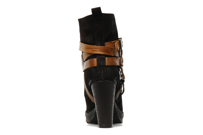 Bottines et boots Folk'l Danya Marron vue droite