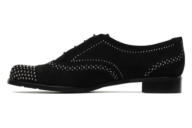 Chaussures à lacets Stuart Weitzman Derby Noir vue face