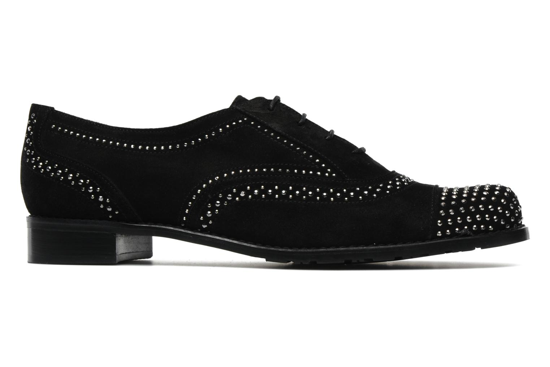 Chaussures à lacets Stuart Weitzman Derby Noir vue derrière
