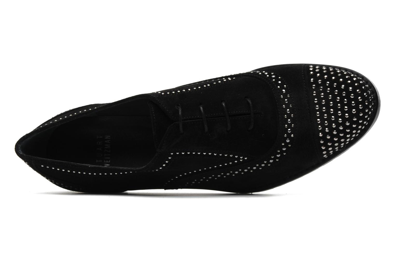 Chaussures à lacets Stuart Weitzman Derby Noir vue gauche