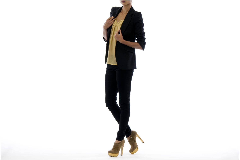 Stiefeletten & Boots De Siena shoes Amalia beige ansicht von unten / tasche getragen