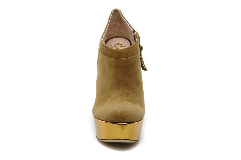 Stiefeletten & Boots De Siena shoes Amalia beige schuhe getragen